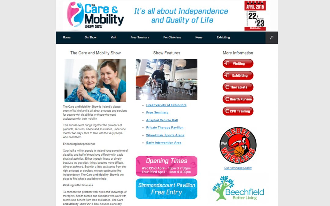 Care and Mobility Show Ireland