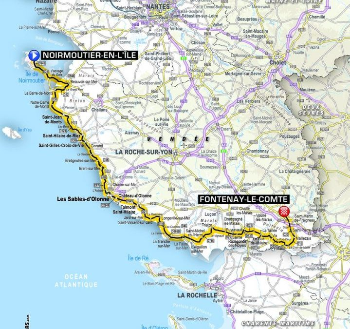 2018 Grand Depart Route