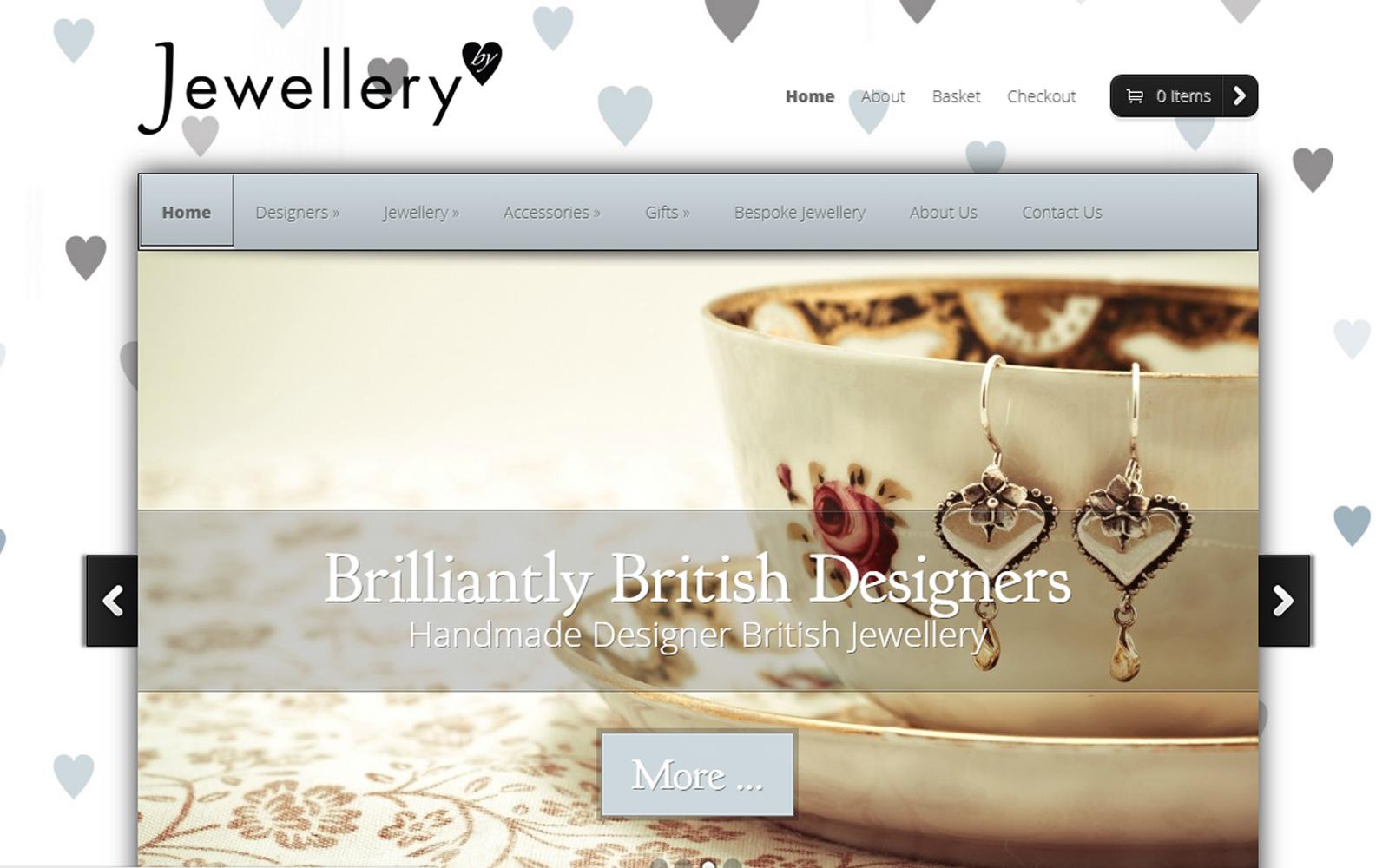 Jewellery by E Commerce Development