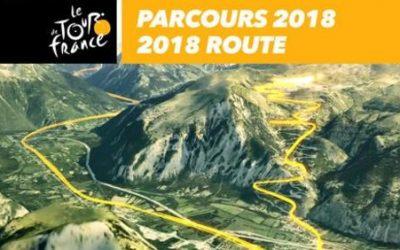 Parcours / Route 3D – Tour de France 2018