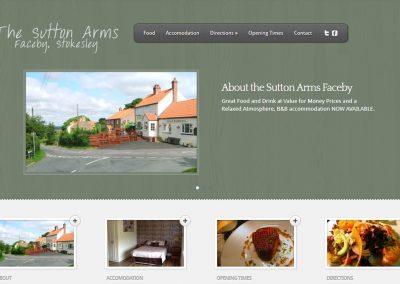 Sutton Arms Faceby